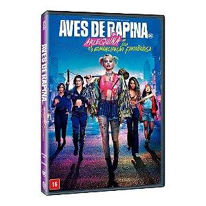 DVD - AVES DE RAPINA: ARLEQUINA SUA EMANCIPAÇÃO FANTABULOSA