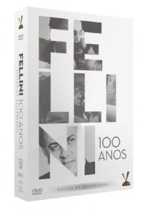 BOX DVD Fellini 100 anos – Edição de Aniversário - ( 5 Discos )