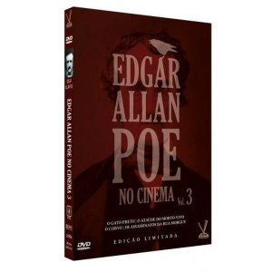 Box Dvd: Edgar Allan Poe No Cinema Vol. 3 (2 discos)