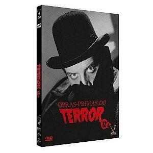 Box DVD Obras-Primas do Terror vol.12 - ( 3 Discos )