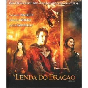 BLU RAY A LENDA DO DRAGÃO -  TAHMOH PENIKETT
