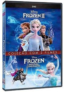 KIT DVD - Frozen Coleção com 2 Filmes