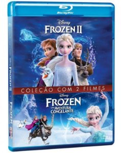 Blu-Ray Frozen - Coleção Com 2 Filmes (2 Bds)