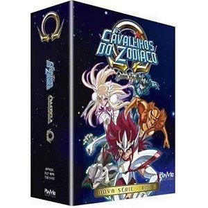 Box DVD - Os Cavaleiros Do Zodíaco - Ômega Box 2 - 4 Dvd's