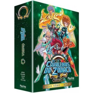 Box DVD - Os Cavaleiros do Zodiaco ÔMEGA BOX 3