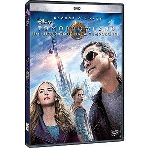 DVD Tomorrowland - Um Lugar Onde Nada é Impossível - George Clooney
