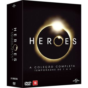 DVD - Heroes: A Coleção Completa - (21 Discos)