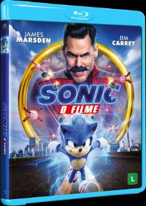 Blu-ray - Sonic - O Filme