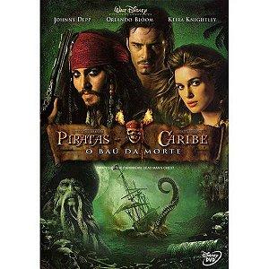 DVD Piratas do Caribe 2: O Bau da Morte