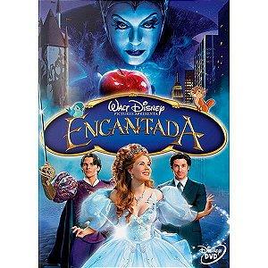 DVD Encantada - Amy Adams - Patrick Dempsey