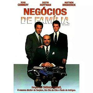 DVD Negócios de Família - Sean Connery