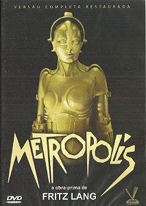 DVD Metropolis - Fritz Lang - Versatil