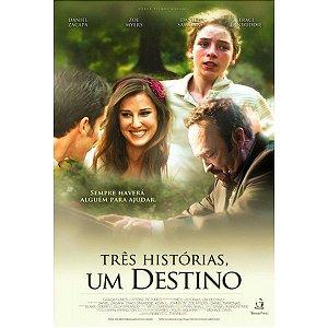 DVD TRES HISTORIAS UM DESTINO