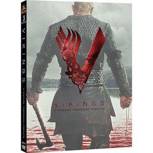 BOX DVD - VIKINGS 3a TEMPORADA 3 discos