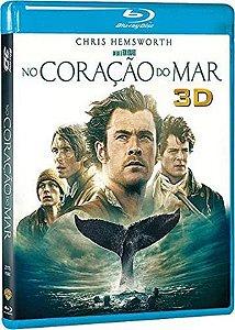 Blu-ray - No Coração do Mar (3D + 2D)
