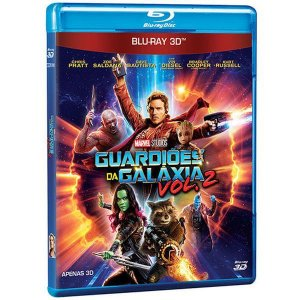 Blu-Ray 3D Guardiões da Galáxia - Vol 2