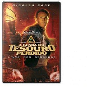 Dvd A Lenda Do Tesouro Perdido Livro Dos Segredos Nicolas