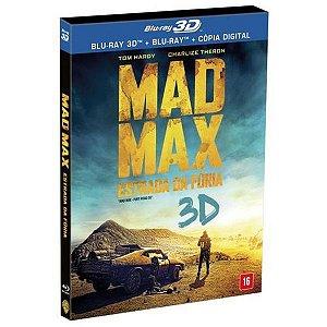 Blu-ray + Blu-ray 3D - Mad Max: Estrada da Fúria