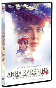 DVD Anna Karenina - A história de Vronsky