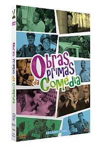 DVD Obras-Primas da Comédia - (3 DVDs)