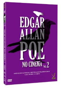 DVD Edgar Allan Poe No Cinema Vol. 2 - Ed. Especial (2 DVDs)