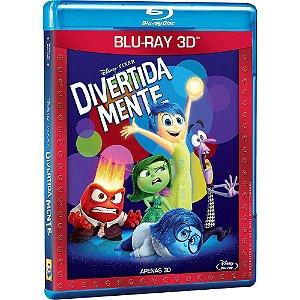 Blu-ray 3d  Divertida Mente