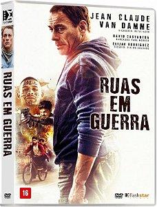 DVD - Ruas em Guerra - Van Damme