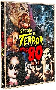 DVD SESSÃO DE TERROR ANOS 80 VOL.2