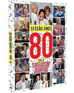 DVD Sessão Anos 80 - Volume 4