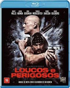 Blu-Ray Loucos E Perigosos - Bruce Willis
