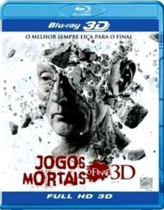 Blu-ray 3D/2D Jogos Mortais - O Final