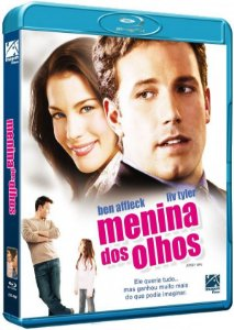 Blu-Ray Menina Dos Olhos - Ben Affleck
