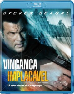 Blu-Ray Vingança Implacável - Steven Seagal