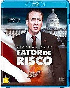 Blu-Ray Fator de Risco - Nicolgas Cage