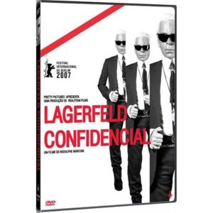 DVD - LAGERFELD CONFIDENCIAL - IMOVISION
