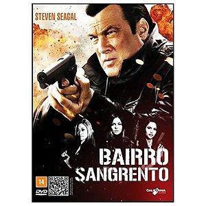DVD Bairro Sangrento - Steven Seagal