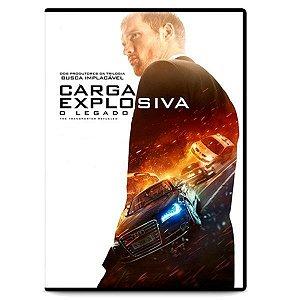 DVD - Carga Explosiva - O Legado - Ed Skrein
