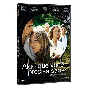 DVD - ALGO QUE VOCE PRECISA SABER - Imovision