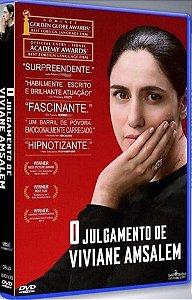 DVD - O JULGAMENTO DE VIVIANE AMSALEM - Imovision