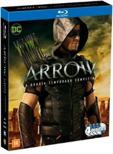 Blu-Ray Arrow - A 4ª Temporada Completa