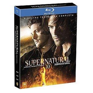 Blu-Ray Box - Supernatural - 10ª Temporada