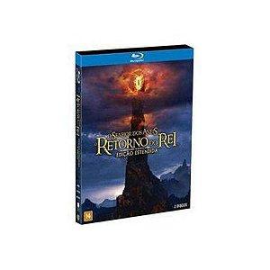 Blu-Ray duplo O Senhor Dos Anéis O Retorno Do Rei Ed Estendida
