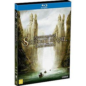 Blu ray duplo O Senhor Dos Aneis: Sociedade Do Anel  Ed estendida