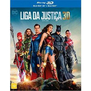 Blu-Ray 3D + Blu-Ray Liga da Justiça