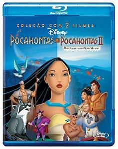 Blu-ray - Pocahontas Coleção 2 Filmes - DISNEY  - Pré-venda 19/08/20