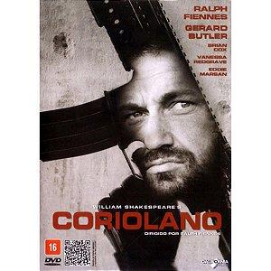 DVD Coriolano - Gerard Butler