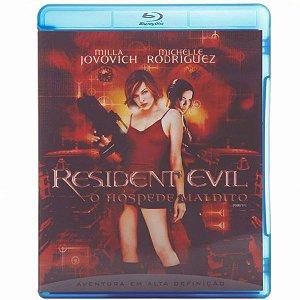 Blu-Ray - Resident Evil - O Hóspede Maldito - Milla Jovovich