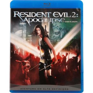 Blu-Ray Resident Evil 2: Apocalipse
