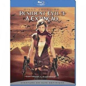 Blu-Ray Resident Evil 3: A Extinção
