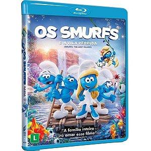 Blu-Ray Os Smurfs e a Vila Perdida